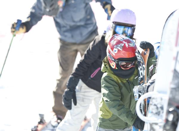 Mt. Baker Ski Area opening day