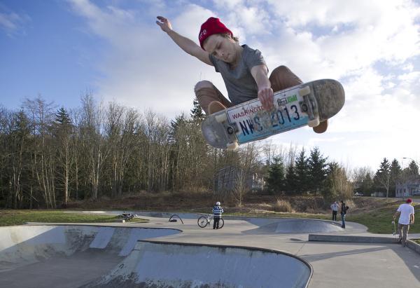 Bellingham skateboarding