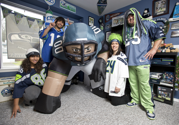 Ferndale Seahawks fan Fred Lindsey is going to the Super Bowl