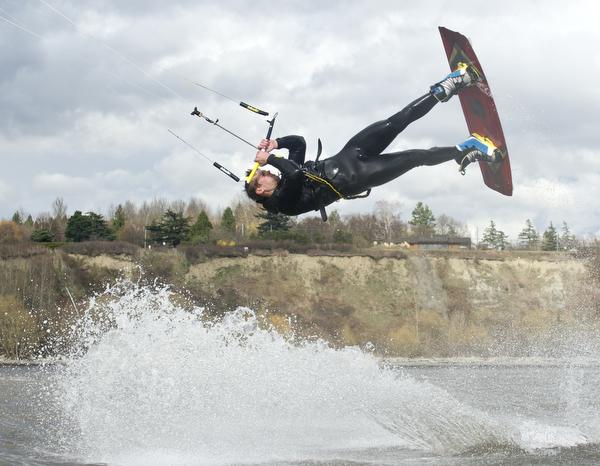 Kiteboarding with Patrick Harber