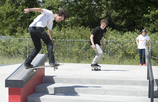 Lummi Nation skate park grand opening