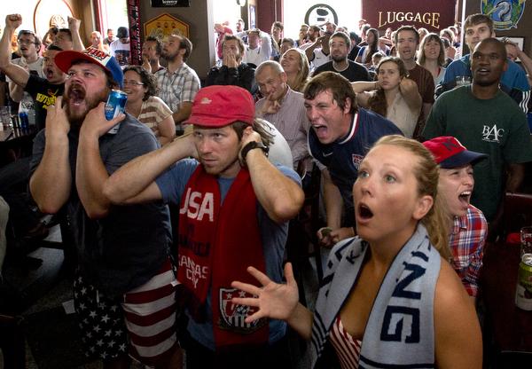 World Cup soccer: U.S. v. Germany