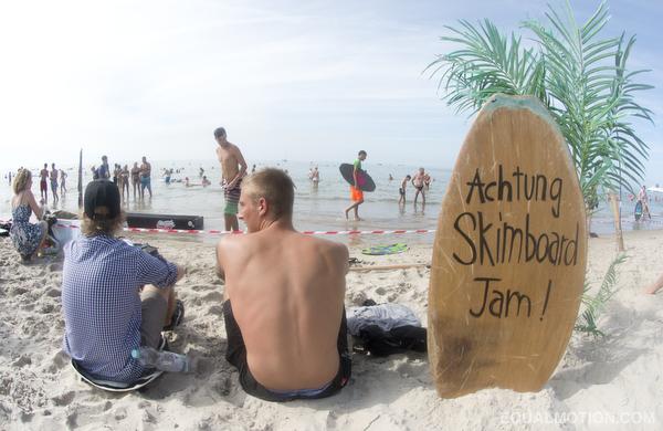 Germany skimboarding with DB Skimboards