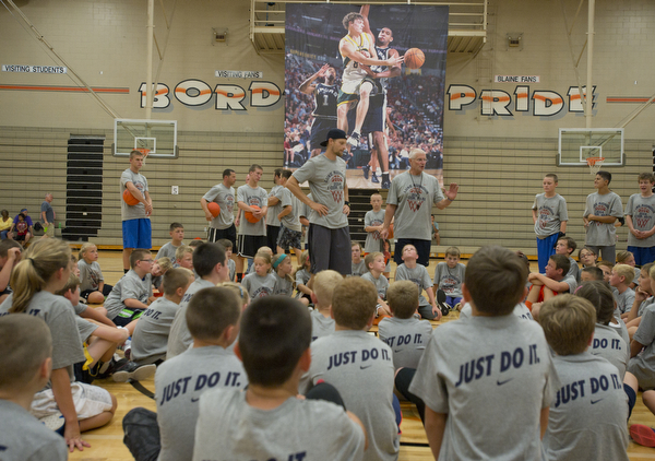 Luke Ridnour Basketball Camp