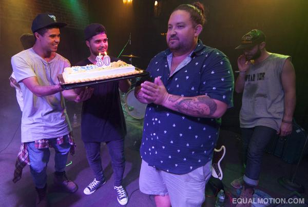Austin Santiago's 30th birthday.