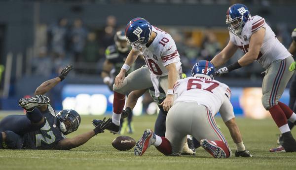 Seahawks v. Giants