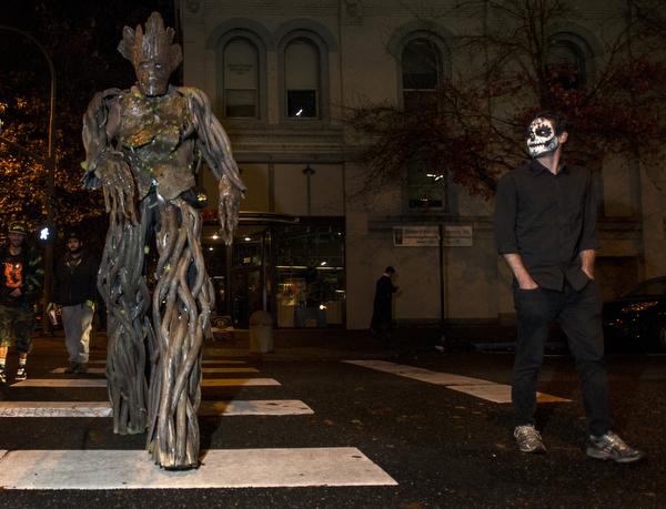 Halloween in Bellingham