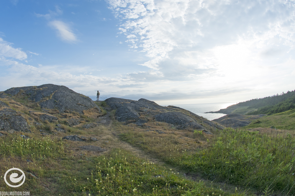 A walk to Iceberg Point on Lopez Island while on a DB Longboards adventure in the Pacific Northwest.