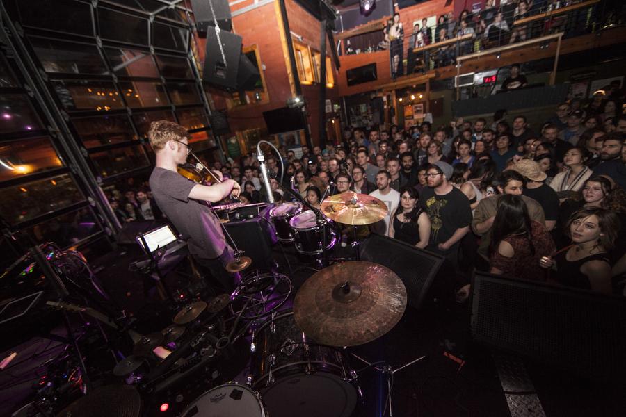 Manatee Commune live at Nectar Lounge in Seattle, Washington.